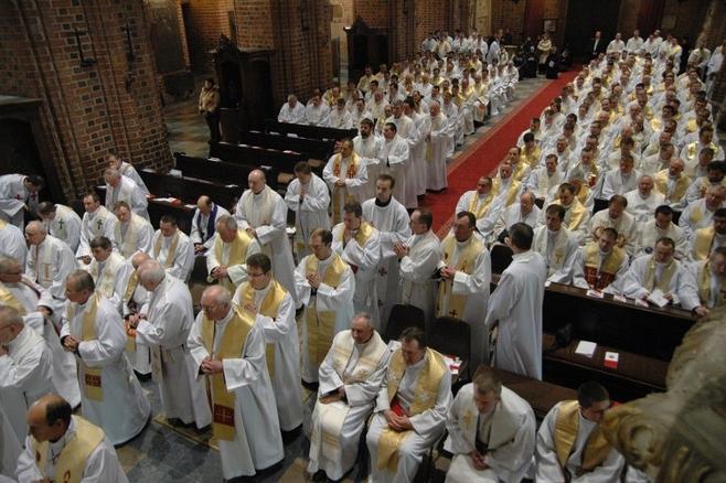 Wielki czwartek jest świętem wszystkich kapłanów.