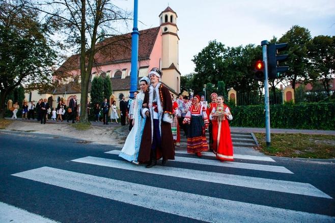Marta Grudziak i Radosław Korzec mieli wesele rosyjskie.