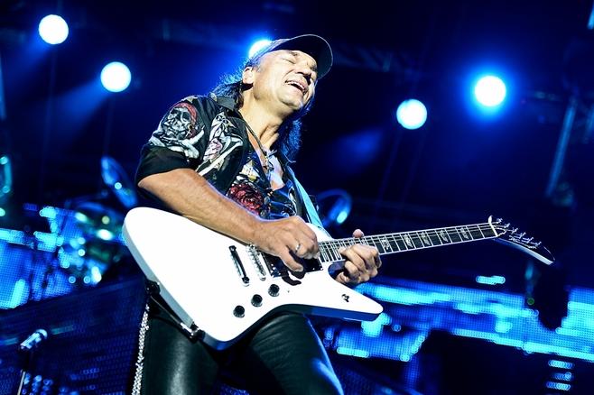 Scorpions zagrali koncert w zajezdni (ZDJĘCIA)