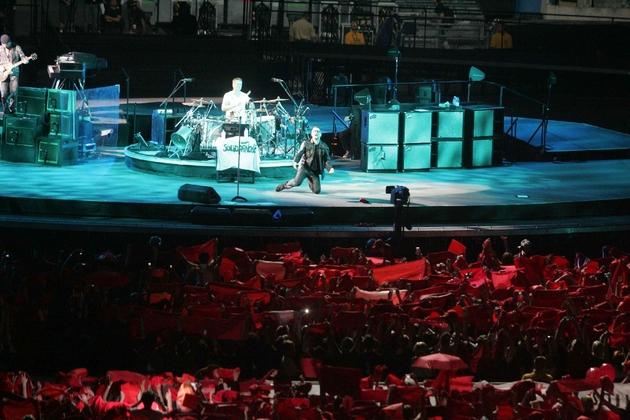 Zdjęcia z koncertu U2 w Chorzowie