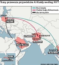 New York Times: W Szymanach torturowano jeńców Al-Kaidy