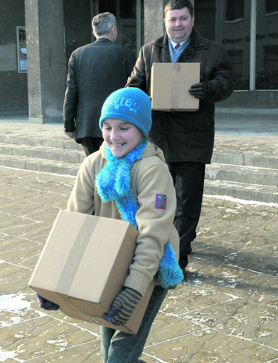 11 ton darów dla rodaków zza Buga