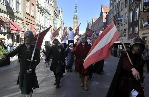 Historyczna parada z okazji Święta Gdańska