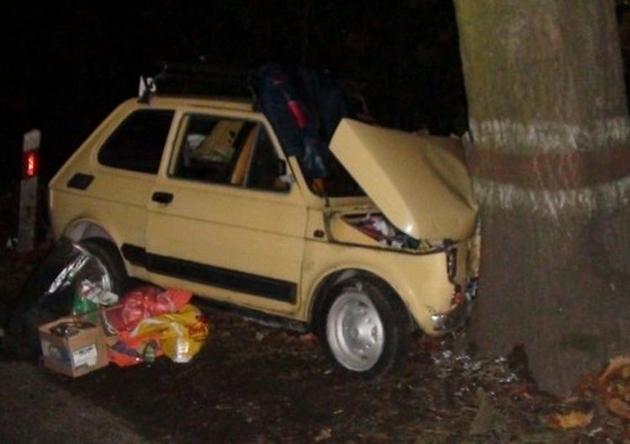 Wypadek w Maryninie