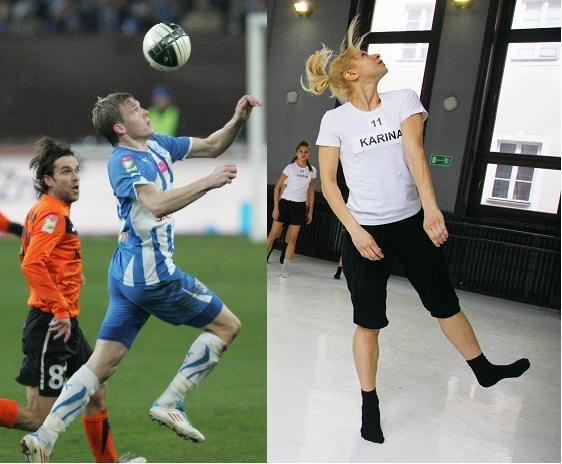 Karina Adamczak-Kasprzak tańczyła jak... Artjom Rudniew