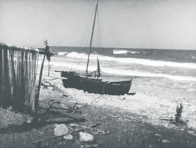 Eugeniusz Haneman - Łodzie rybackie (Ostrowo), 1934