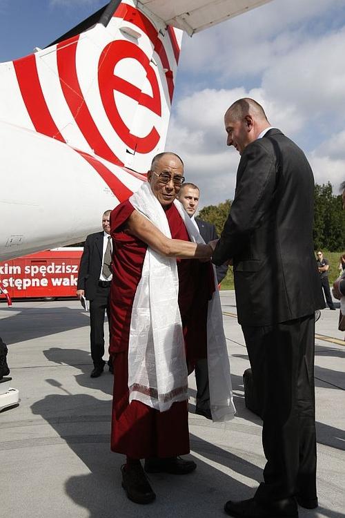 Dalajlama odwiedził Wrocław [ZDJĘCIA]