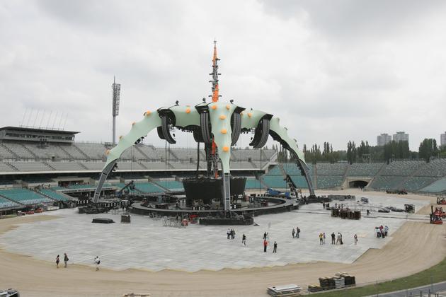 Bono marzył o występie na takiej scenie jaką zbudowano na Śląskim