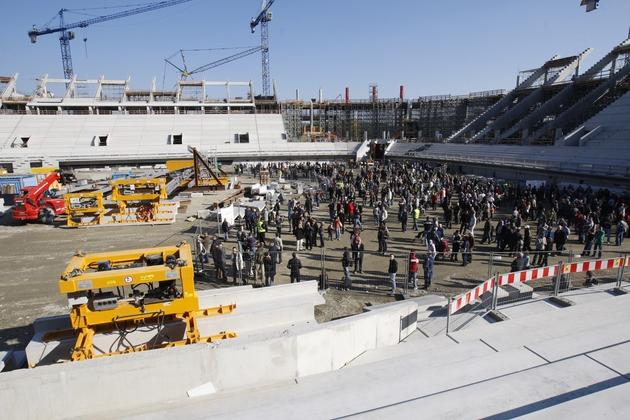 Na 40-tysięcznym stadionie rozegrane będą na Euro trzy mecze, w tym jeden drużyny Polski