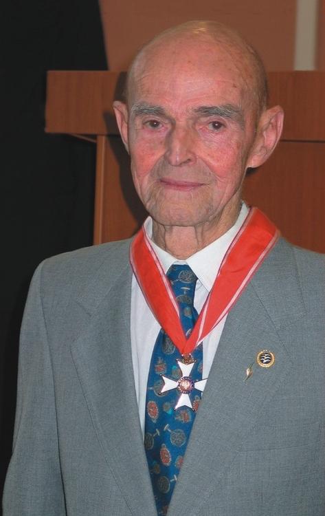 Generał brygady, pilot Tadeusz Góra.