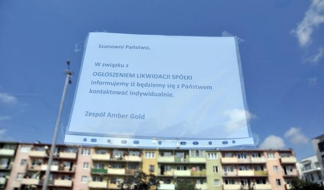 Amber Gold. Zapadła decyzja o likwidacji gdańskiej spółki