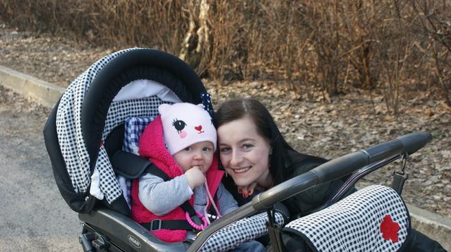 Mama i dziecko: Paulina Żabierek, córka Amanda [48]