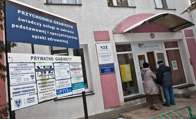 Przy ul. Stalowej jest przychodnia Grabiszyn, mimo że to obszar Gajowic