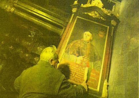 Kradzież w poznańskiej Farze! Zniknął obraz w złoconej ramie