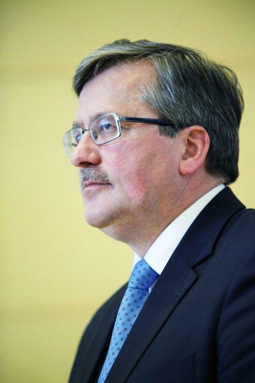 Bronisław Komorowski przyjedzie do Poznania w poniedziałek