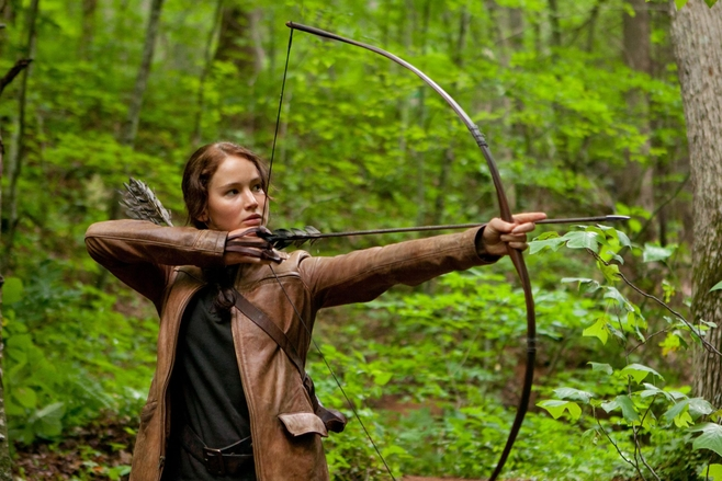"""Jennifer Lawrence w """"Igrzyskach śmierci"""""""