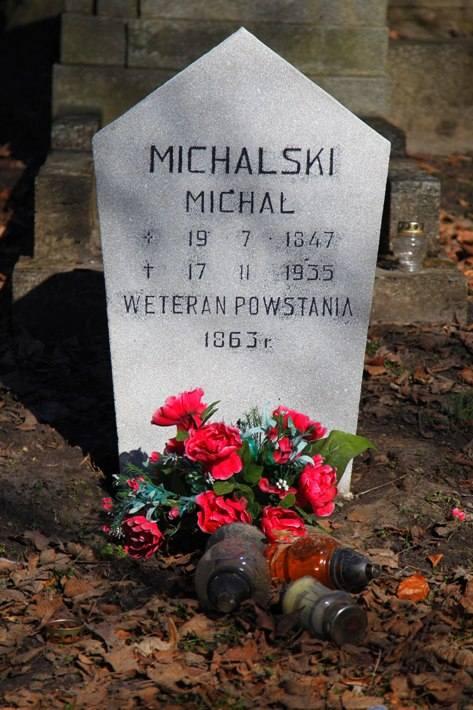 Część błędów dotyczy dat urodzenia lub śmierci, niekiedy pomyłki są nieznaczne. Michal Michalski zmarł nie 17 tylko 18 listopada 1935 roku.