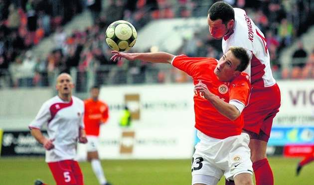 Szymon Pawłowski wciąż ma problemy ze zdrowiem. Ostatni raz zagrał w lidze 6 marca