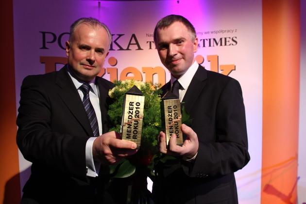 Zwycięzcy: Marek Maruszak i Paweł Kaźmierczak.