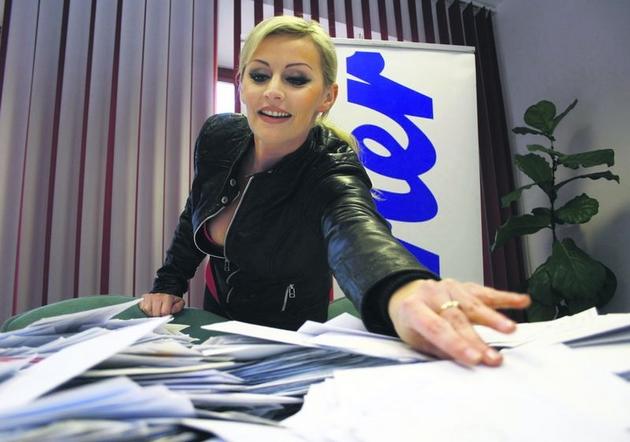 """W rolę """"sierotki"""" wcieliła się tym razem Maria Dobrzańska z Bajmu."""