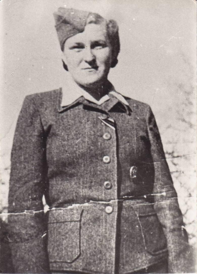 Hermine Braunsteiner na Majdanku