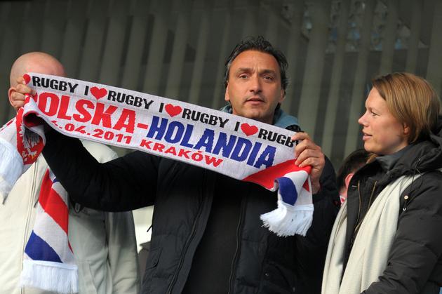 Mistrzostwa rugby: Polska vs Holandia [ZDJĘCIA]