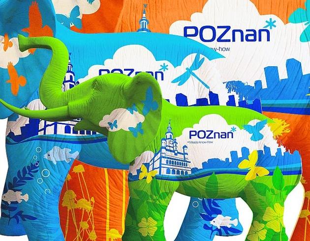 Na każdym słoniu znajdzie się nowe logo i hasło promocyjne Poznania