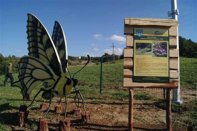Znalezione obrazy dla zapytania park owadów stobierna