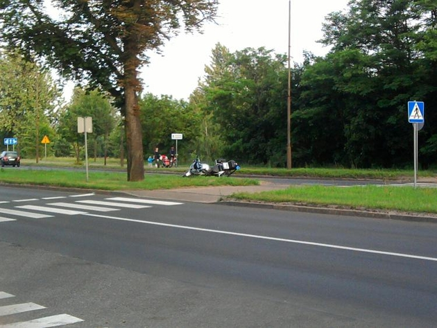 Do wypadku doszło na Al. Wojska Polskiego w Pile