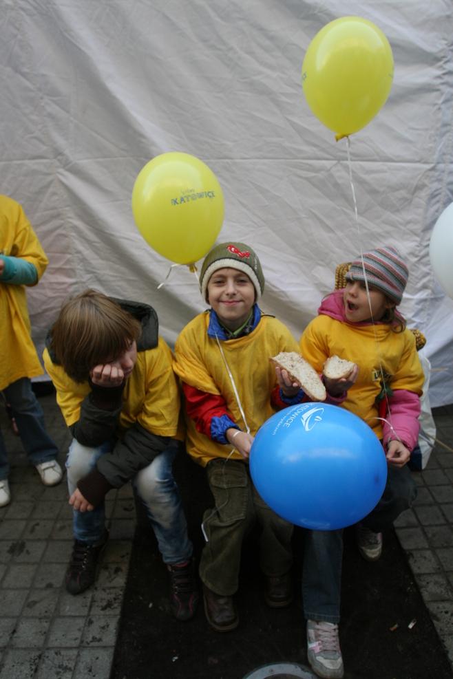 Strajk Żywności i sznita chleba w Katowicach [ZDJĘCIA]