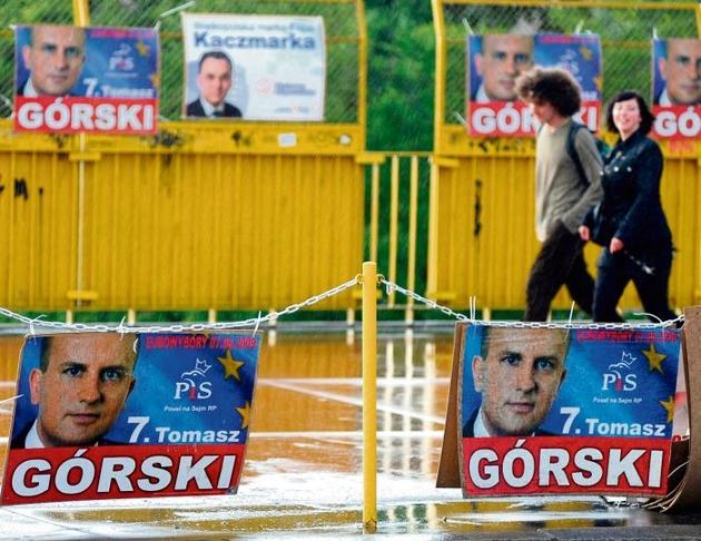 Rok temu plakaty posła Górskiego zalały Wielkopolskę