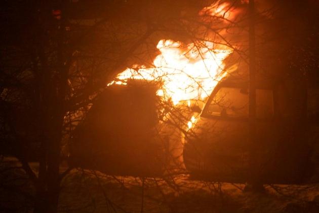 Gdańsk. Na Jasieniu płonęły auta (ZDJĘCIA)