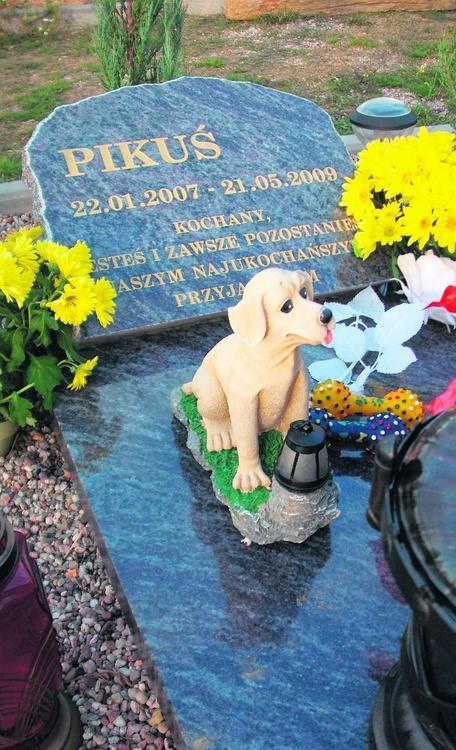 Na cmentarzu w Szymanowie takie pomniki to nie rzadkość
