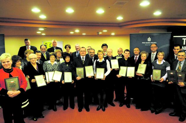 Zwycięzcy i wyróżnieni w konkursie Wojewódzki Lider Smaku z certyfikatami