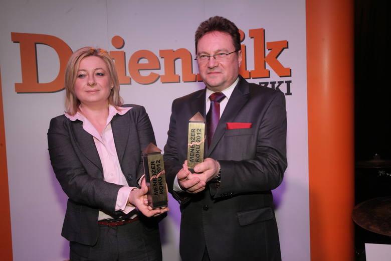 Agnieszka Jackowska-Durkacz i Cezary Kołota zostali menedżerami roku 2012 w konkursie organizowanym przez naszą redakcję i łódzką lożę BCC.