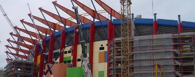 Stadion w Leirii (Portugalia)