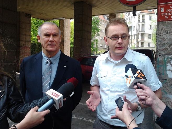 Tadeusz Dziuba, poseł PiS i radny tej partii Adam Pawlik
