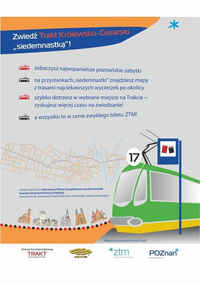 Poznań: Trakt Królewsko - Cesarski zwiedzany tramwajem