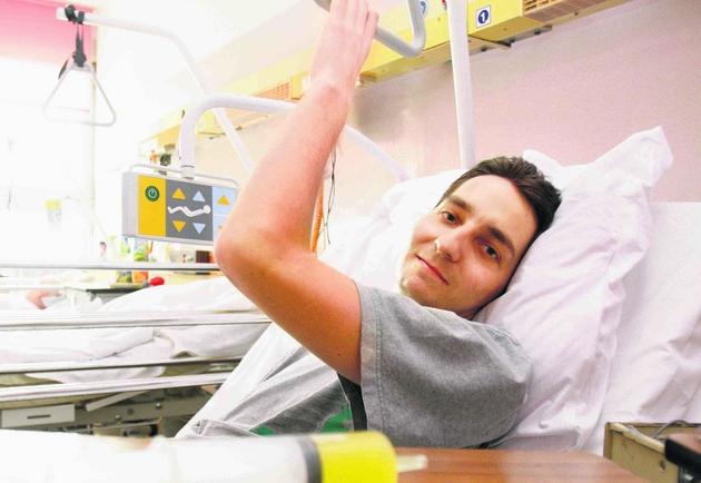 Krzysztof przeżył dzięki możliwościom nowoczesnej medycyny