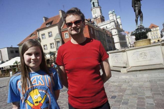 Tomasz Raczkiewicz z córką Olą postanowili, że sobotnie przedpołudnie spędzą smakując lody w poznańskich kawiarniach, a w niedzielę wybiorą się na z