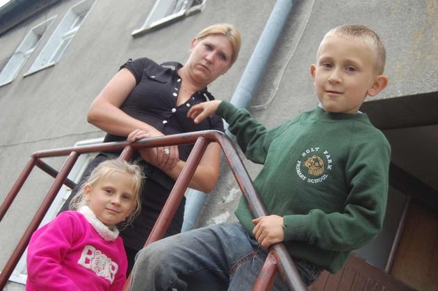 Magdalena Wosińska i jej dzieci od poniedziałku zostaną bezdomnymi i być może trafią nawet do schroniska