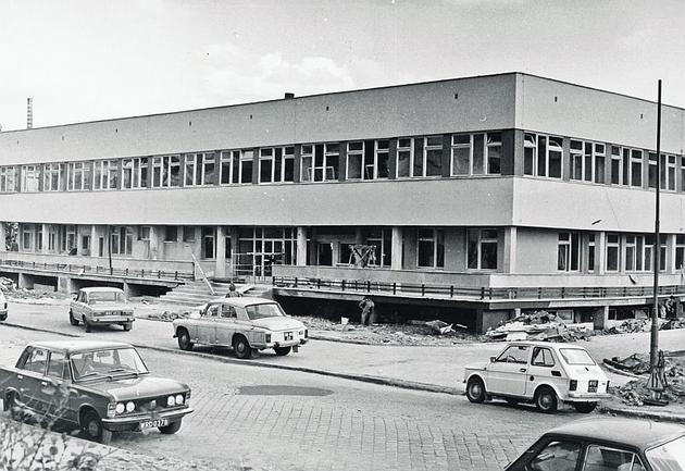 1979. Cała ulica Młodych Techników cieszyła się z nowej przychodni