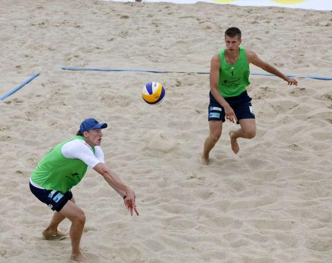 Turniej siatkówki plażowej Malta 2012