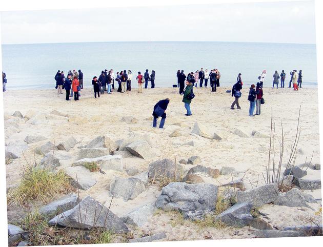 Uczestnicy Ekspresu na Westerplatte