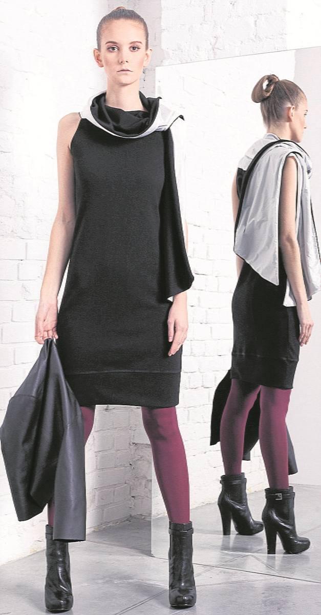 """Spodnie i spódnice zaprojektowane  przez Magdę Hasiak doskonale pasują zarówno do codziennych stylizacji """"do pracy"""",  jak i  """"po"""