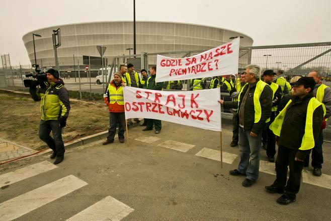 Wrocław: Będzie strajk okupacyjny na stadionie?