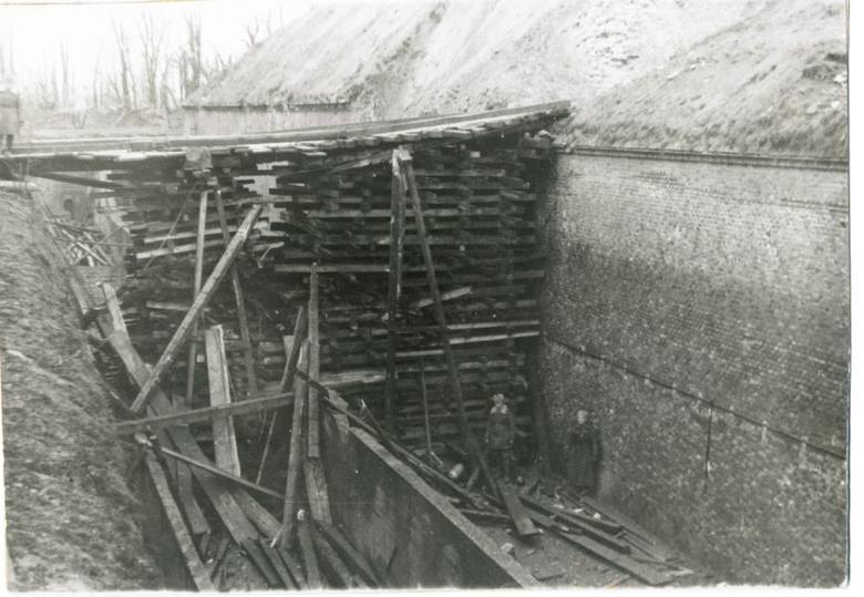 Fort Winiary, 23 lutego 1945 roku.