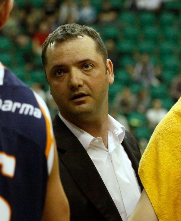 Milija Bogicević jest nowym trenerem PBG Basket Poznań