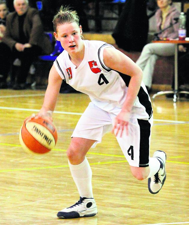 Magdalena Koperwas zdobyła wczoraj 19 punktów