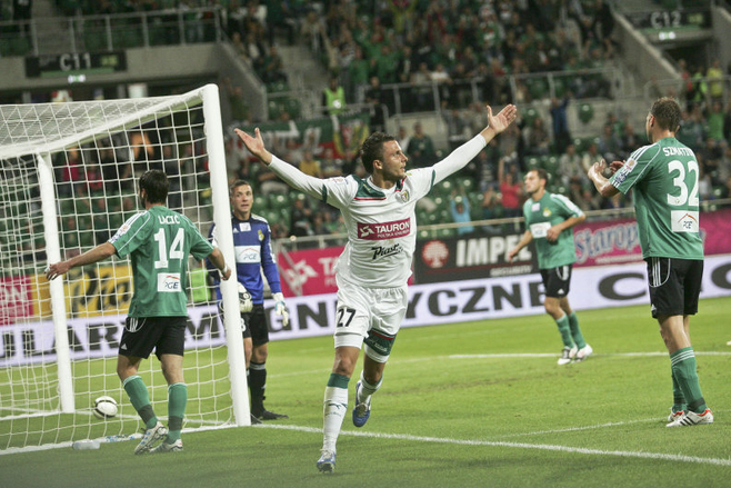 Śląsk Wrocław pokonał GKS Bełchatów. Mamy ćwierćfinał! (ZDJĘCIA)